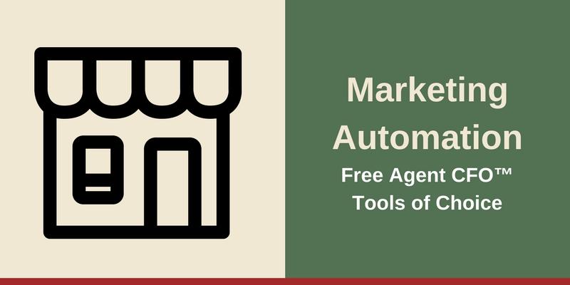 Marketing Free Agent CFO™Tools of Choice