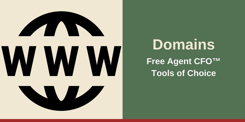 Resources - Domains Free Agent CFO™Tools of Choice