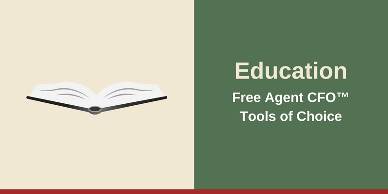 Resources - Education Free Agent CFO™Tools of Choice
