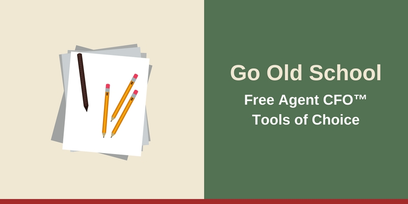 Resources - Go Old School Free Agent CFO™Tools of Choice