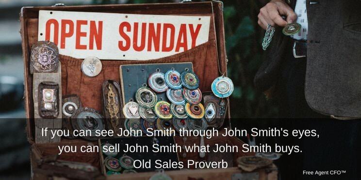 Selling to John Smith