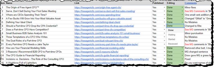 Google Error Tracking Worksheet