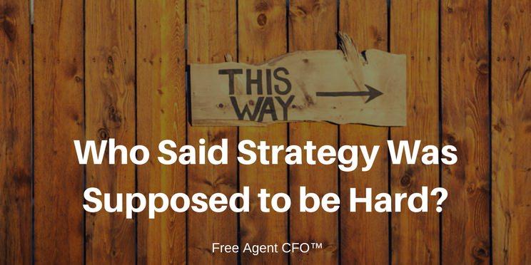 CFO Firm Strategy