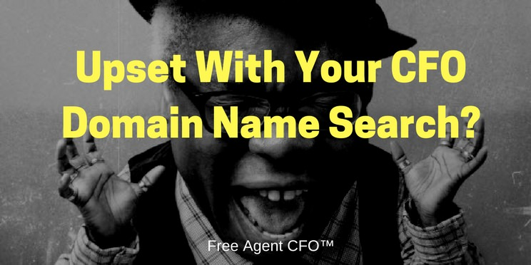 Upset With Your CFO Domain Search?